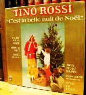 33 TOURS VINYLE NEUF SOUS BLISTER 1978 TINO ROSSI BERCEUSE LA MARCHE DES ROIS MAGES DE L'ARLESIENNE CETTE NUIT LA NOEL D - Christmas Carols