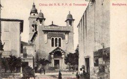 [DC6626] BORDIGHERA (IMPERIA) - CHIESA DEI R. R. P. P. DI TERRASANTA - Old Postcard - Imperia