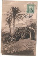 Tunisie La Priere  Timbrée TTB - Tunisie