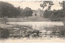MONNAIE Château Du Mortier Le Parc Et L'étang -timbrée TTB - Monnaie