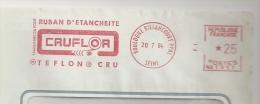 """Etancheité, Teflon, Plastique, Matière, """"Cruflor"""", """"Du Pont""""- EMA Secap - Devant D'enveloppe   (M681) - Physics"""