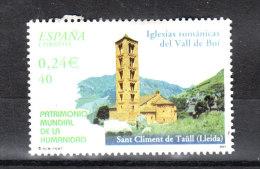 Spagna    -   2001.  Chiesa Romanica Di Vall De Boi.  World Heritage Site - Churches & Cathedrals