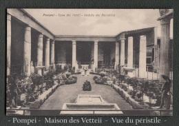 CPA - Carte Postale - Pompei  - Maison Des Vetteii - Le Peristile - - Monuments