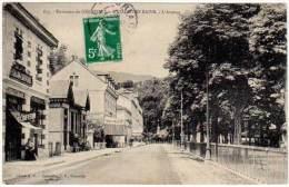 Environs De Grenoble - Uriage Les Bains - L'Avenue (coiffeur Côté Gauche) - Uriage