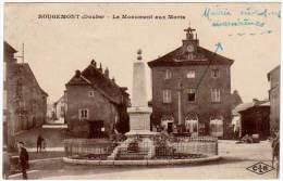 Rougemont - Le Monument Aux Morts - Autres Communes