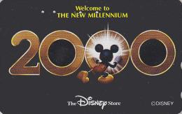 Télécarte Japon  / 110-208034 - DISNEY STORE - New Millenium MICKEY - Japan Phonecard Telefonkarte - Disney