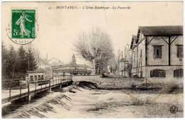 Montargis - L'Usine Electrique - La Passerelle - Montargis