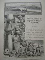 Hungary-Romania -Erdély - Huneadoara - Tordos -Turdas -  TordoÈ™ Archeology     Print  Ca 1895  1OM20.19 - Stiche & Gravuren