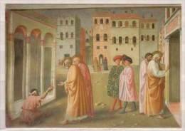 Firenze , Chiesa Del Carmine , Masolino E Masaccio , Guarigione Dello Storpio E Resurrezione Di Tabita , Particolare - Churches & Cathedrals
