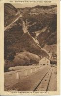 SAINT HILAIRE DU TOUVET . LA GARE DE MONTFORT . ET LA LIGNE . RAMPE 83% - Stazioni Senza Treni