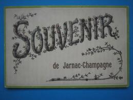 17 : JARNAC-CHAMPAGNE : SOUVENIR  :   Carte En Trés Bon état : - Altri Comuni