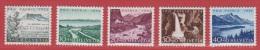 1954 ** (sans Charn., MNH, Postfrish)   Yv. 548/52  Mi. 597/01  Zum. 66/70 - Pro Patria