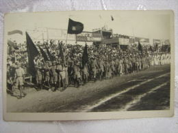 HASHOMER HATZAIR ZIONIST YOUTH MOVEMENT MARCH PARADE PALESTINE REAL PHOTO PC - Postcards