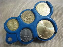 Vintage Coins Holder Dispenser Israel 1980´s - Altre Collezioni