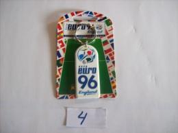 PORTE - CLEFS - FOOTBALL EURO  Uefa  96 England Neuf Dans Sont Blister D´origine - Voir Photo (4) - Sleutelhangers