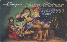 Télécarte Japon / 110-208151 - DISNEY STORE - NOEL - CHRISTMAS 1999 - Japan Phonecard - WEIHNACHTEN - Disney