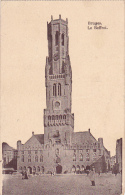Bruges Le Beffroi Feldpost Kaiserliche Marine Feldartillerie Regiment 1918 - Brugge