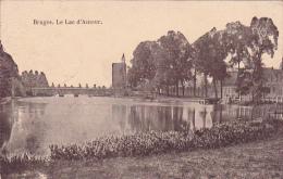 Bruges Le Lac D'Amour Feldpost Kaiserliche Marine Feldartillerie Regiment 1918 - Brugge