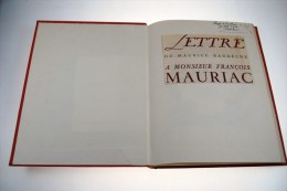 Lettre De Maurice Bardèche à Monsieur François Mauriac Editions Du Triolet 1948 - Histoire
