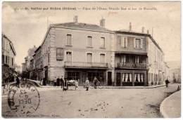 Saint Vallier Sur Rhône - Place De L'Orme, Grande Rue Et Rue De Marseille - Autres Communes