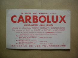 MINES DE BRUAY 62 CARBOLUX COMBUSTIBLE SANS FUMEE