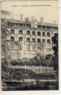 BLOIS - Le Chateau - Vue Du Square Victor Hugo - Blois