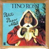 DISQUE 45 TOURS NEUF 1978 SOUS BLISTER D'ORIGINE TINO ROSSI CHANTE PETIT PAPA NOEL MINUIT CHRETIENS TROIS ANGES SONT VEN - Weihnachtslieder