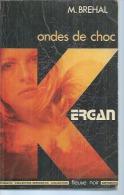 """KERGAN  """" ONDES DE CHOC """" - ESPIOMATIC N° 33 -   M. BREHAL - FLEUVE NOIR - Fleuve Noir"""