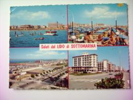 LIDO DI  SOTTOMARINA  VENETO  VIAGGIATA  COME DA FOTO - Venezia
