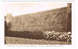 """""""Amersfoort - Belgisch Monument Fragment : De Vlucht Der Belgen Naar Holland"""" - Amersfoort"""