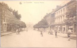 La Louvière. Boulevard. Mairaux. Café L'Economie. - La Louviere