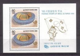 COREE DU SUD    BF 415 * *   Jo 1988  Stades Football Soccer  Fussball - Calcio