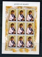 ST  LUCIA   1997    Diada  Princess  Of  Wales  Commemoration   Sheetlet    MNH - St.Lucie (1979-...)