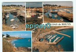 B - 56 - SAINT GILDAS DE RHUYS - Le Port - Cate Multivues - édition Yga - France