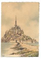 MANCHE-BARDAY Le Mont St Michel Coté Sud-MB - Le Mont Saint Michel