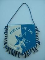 FANION FOOTBALL STELLA DE LYS N°2 - Apparel, Souvenirs & Other