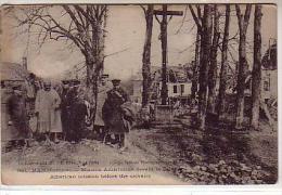 80 HAM ( Somme ) - Mission Américaine Devant Le Calvaire - American Mission Before The Calvaire - Animé - Ham