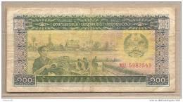 Laos - Banconota Circolata Da 100 Kip - Laos
