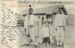 LBL23- CPA  VOYAGEE 3 AVRIL 1904 KARBINE MANDCHURIE - 1857-1916 Imperium
