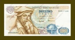 *Belgie - Belgique *1000 Francs Type Mercator*1967**AUNC**Lo T 1902618245 - Unclassified
