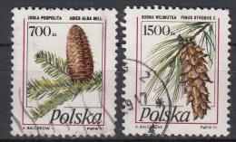 POLEN - Michel - 1991 - Nr 3312/13 - Gest/Obl/Us - 1944-.... République
