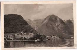 Norge Balholm Kviknes Hotel Gelaufen 17.6.1936 Mit Sonderstempel SST Deutsche Schiffspost KdF Kraft Durch Freude - Germany