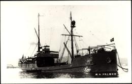 Foto Ak Italienisches Kriegsschiff, Nave Pagano, In Fahrt, Fahne - Non Classés