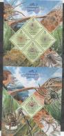 SOLOMON ISLANDS,MNH, 2013,AUSTRALIAN FAUNA, SPIDERS, SHEETLET+ S/SHEET, - Spiders