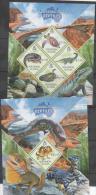 SOLOMON ISLANDS,MNH, 2013,AUSTRALIAN FAUNA,REPTILES,CROCODILES, LIZARDS, TURTLES, SNAKES,  SHEETLET+ S/SHEET, - Serpents
