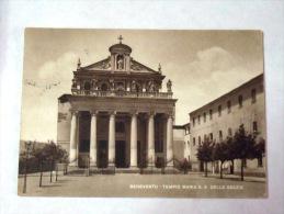 BENEVENTO - CARTOLINA - TEMPIO MARIA S.S. DELLE GRAZIE - - Benevento