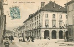 88 SAINT DIE  HOTEL DE VILLE ET RUE STANISLAS - Saint Die