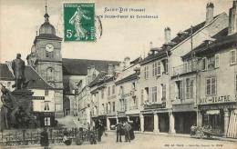 88 SAINT DIE  PLACE JULES FERRY ET CATHEDRALE - Saint Die