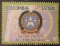 """A189.-. KOLUMBIEN / COLOMBIA .-. 2013 .-.MNH .-. NATIONAL POLICE """" DIJIN """" , ONLY 4000 STAMP ISSUED. VERY SCARCE - Colombia"""