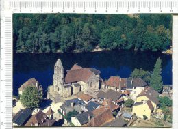 L437 -  BEAULIEU SUR DORDOGNE  -  Dominant La Dordogne, La Chapelle Des Pénitents Avec Son Clocher Mur - France